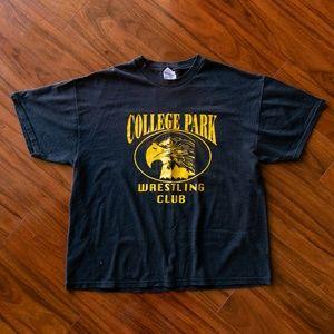 Vintage College Park Wrestling Club T-Shirt